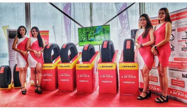 Dunlop Uji Kenyamanan Ban Baru SP Sport LM705