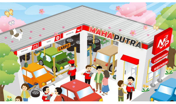 Toko Jual Ban Mobil di Makassar