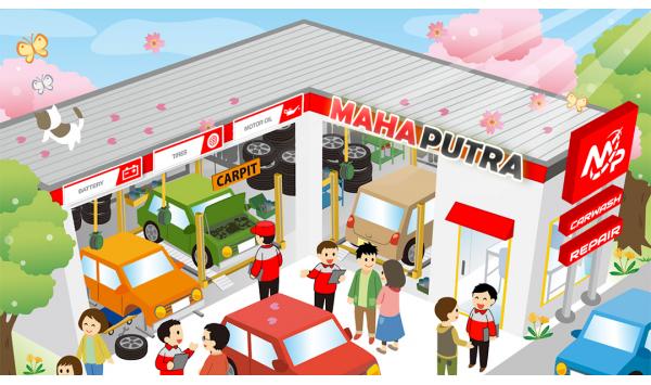 Distributor Sparepart Mobil Murah di Makassar di Bengkel Mahaputra