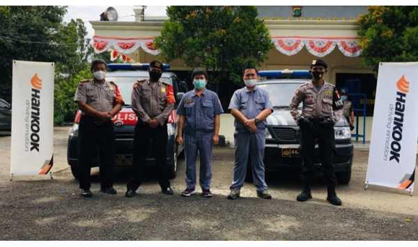 Permudah Mobilitas saat Pandemi, Hankook Tire Donasikan 128 Ban
